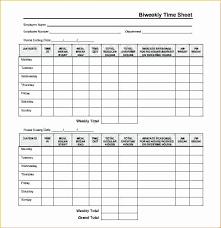 Biweekly Timesheet Template Free Biweekly Timesheet Template Free Elegant Timesheet Template Word Bi
