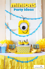 Diy Party Printables Minions Party Ideas Despicable Me Birthday Homemade