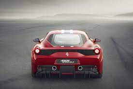 The 2009 ferrari 458 italia, abbreviated as ferrari 458, is a rwd supercar by ferrari that debuted in forza motorsport 3 as part of the hot holidays car pack, and is featured in all subsequent main series titles. Ferrari 458 Speciale Exterior Photos Carbuzz