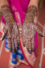 South Indian Bridal Mehndi Designs Rohit Gouris Traditional Intimate South Indian Wedding