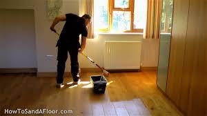 Sanding New Hardwood Floors How To Refinish A Wood Floor Without Sanding Youtube