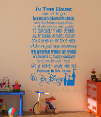 extravagant disney wall decor in thi house we do decal letter for cool room e idea