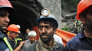 نتیجه تصویری برای کارگران معدن زغال