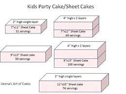 Sheet Cake Sizes Chart Images Cake And Photos Masakanenak Com