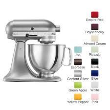 kitchenaid mixer color chart. kitchenaid artisan series stand mixer ksm150 kitchenaid color chart