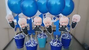 Diy Boss Baby Centerpiece Boss Baby Party Diy Youtube