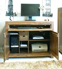 hidden office furniture. Hidden Office Desk Home Furniture Medium Image For Oak Inspirations Decoration Hideaway Oval Secret