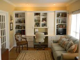 Living Room Built Ins Positively Southern Living Room Office With Built In Cabinets