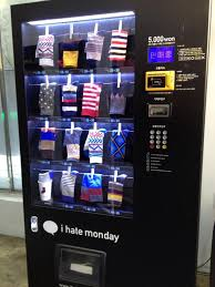 Hat Vending Machine Stunning Korea Has Sock Vending Machines Mildlyinteresting