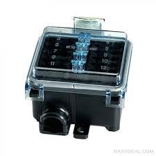 hella hella 12 gang fuse box waterproof 005993131 005993131 hella 12 gang fuse box waterproof