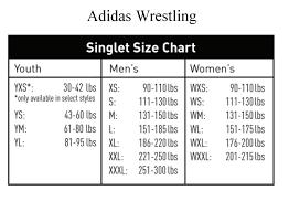 Yxs Size Chart Adidas Singlet Size Chart Jpg