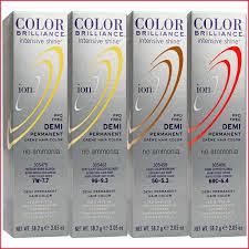 33 Organized Ion Color Brilliance Permanent Creme Hair Color