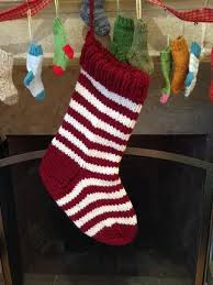 Knit Stocking Pattern