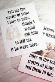 Primary Flip Charts Tell Me The Stories Of Jesus Free Printable Flip Chart For