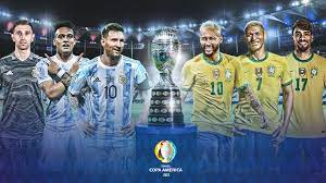 Argentina vs Brazil in the final of the ...