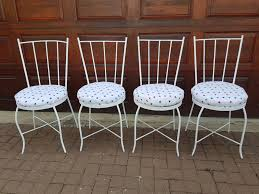 white iron outdoor furniture. Furniture:Antique Metal Porch Chairs Old Outdoor Furniture 1950s Patio Vintage Wrought Iron White