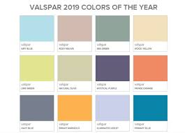 Bh Paint Color Chart Paint Companies Predict 2019 Colors Of The Year Better