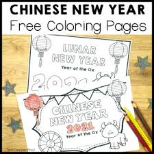 Chinese new year 2021 and everything to know about how to make the most out of the year of the ox. Chinese Lunar New Year 2021 Year Of The Ox Coloring Posters Free Download