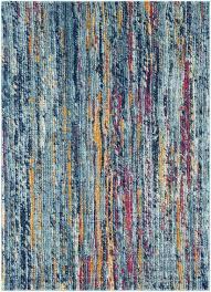 blue green orange rug modern area rugs