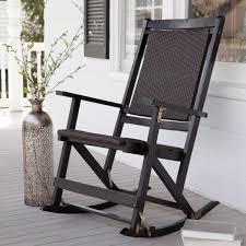 astonishing outdoor folding rocking chair for front porch decoration gorgeous black wood outdoor folding rocking