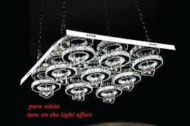 chandeliers circle crystal chandelier modern brilliant generous big square led segmented ceiling light small swarovski