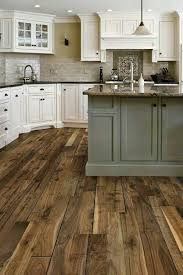 Perfect Off White Country Kitchens Love The Floors And Combo With Cabinets Throughout Ideas