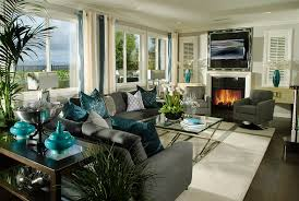 Teal Accent Home Decor Hot Color Trends Coral Teal Eggplant and More 27