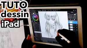 Dessin Tablette Comment Je Dessine Sur Ipad Pro Tuto Manga 2