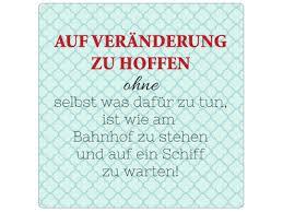 20x20cm Metallschild Türschild Auf Veränderung Zu Hoffen Lustig