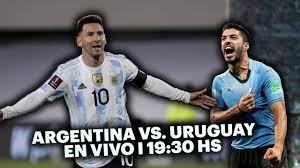 ARGENTINA VS. URUGUAY ⚽️ I LIVE IN TyC SPORTS   Qatar 2022 Qualifiers – TyC  Sports
