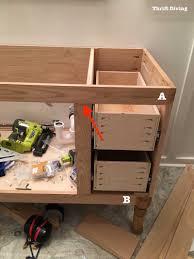 building a bathroom vanity. Impressing Building A Diy Bathroom Vanity Part Making Cabinet