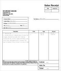 Sales Receipt Sales Receipt Template 17 Free Word Pdf Documents Download