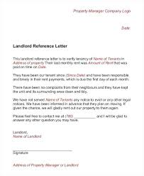 Landlord Reference Letter Template Download Pdf Rental
