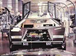 Countach In Lamborghini Factory Under Construction My Virtual