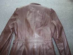 wb place vintage womens deerskin leather jacket 36 lined usa made belted
