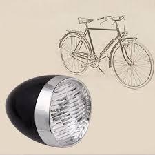 Bicycle Bike Light Fiets Koplamp Retro Vintage Led Fietslamp Bicycle