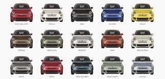 Fiat 500 Colour Chart Fiat 500 Abarth Fiat 500 Abarth Grey Paint Code