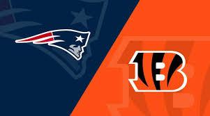 Patriots Chart New England Patriots Vs Cincinnati Bengals Matchup Preview
