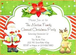 Sample Of Christmas Party Invitation Party Invitations Examples Cryptoforpak