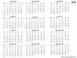 Ppt Calendar 2015 Free 2016 Printable Calendar Template