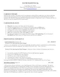 Telecom Sales Manager Resume Example Internationallawjournaloflondon