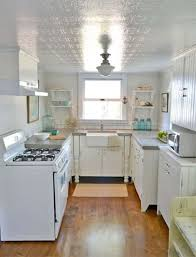 lighting for small kitchens. Small Kitchen With Semi Flush Mount Lighting : Stunning For Kitchens C