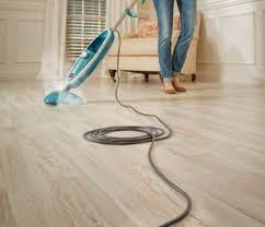 use steam cleaner on hardwood floors