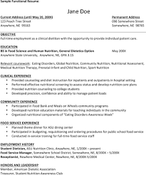 dietitian resume dietician resume clinical dietitian resume example resume examples