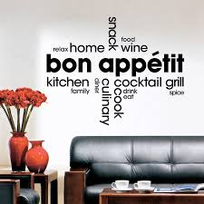 Bon Appetit Wall Decor Plaques Signs