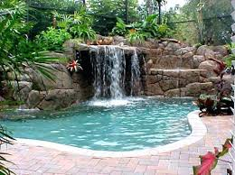in ground pools with waterfalls. Delighful Pools Sophisticated Inground Pool Waterfalls Swimming  Inside In Ground Pools With Waterfalls L