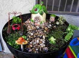fairy garden in container amazing ideas