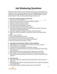 Questions To Ask At Job Shadow Job Shadowing Tips Under Fontanacountryinn Com