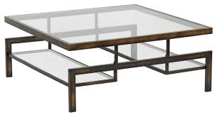 glass and steel coffee table  amazing home design