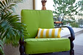 Interesting Sunbrella Outdoor Seat Cushions Sunbrella Macaw Lime Green  Outdoor Deep Seating Chair Cushions